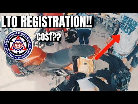 LTO REGISTRATION 2018 | HOW MUCH?