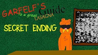 Secret Ending (Wrong answers only! ) Garfelf's Guide To A Great Lasagna (A Baldi's Basics Mod)