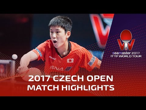 2017 Czech Open Highlights: Timo Boll vs Tomokazu Harimoto (Final)