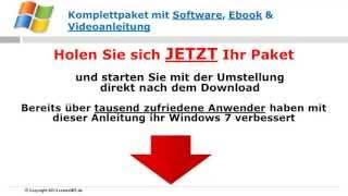 Windows 7 Eigene Dateien verschieben