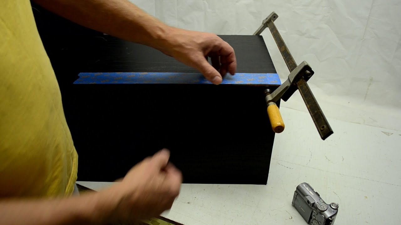How to Fix Speaker Boxes made with MDF   YouTube. Restoring Old Speaker Cabinets. Home Design Ideas