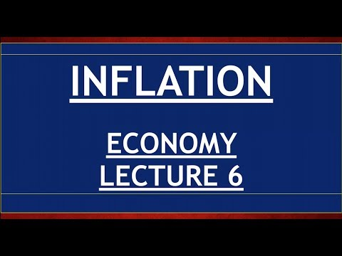 Economy for UPSC - Lecture 6 - Inflation - Disinflation, Core, Stag, Causes, WPI, CPI, Tackling