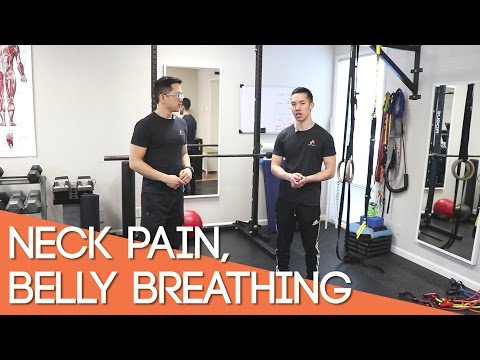 Neck Pain, Belly Breathing/diaphragmatic Breathing