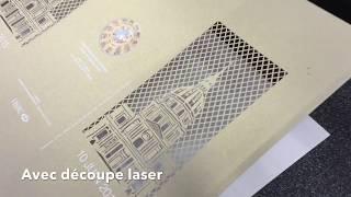Impression Quadri + blanc sur HP indigo  7900