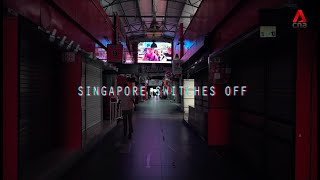COVID-19: Stay home, Singapore
