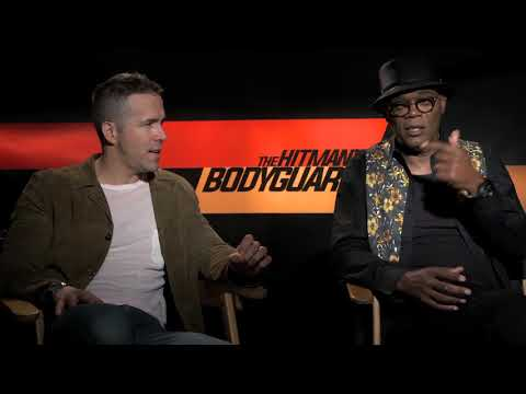 Exclusive: The Hitman's Bodyguard Interview with Ryan Reynolds, Samuel L. Jackson and Salma Hayek