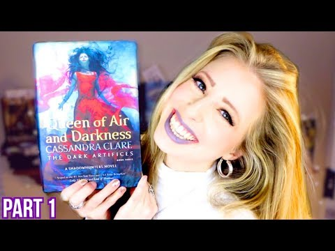 QUEEN OF AIR AND DARKNESS BY CASSANDRA CLARE | booktalk with XTINEMAY (PART 1)