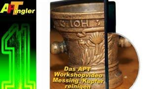Tip Messing- und Kupfer Oxidation (Grünspan) einfach an verbauten Teilen entfernen.