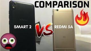 Infinix Smart 2 VS Redmi 5A Comparison | देश का सुपरस्टार VS देश का स्मार्टफोन