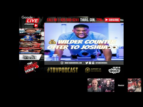 💰Wilder COUNTER OFFER to Joshua👀GGG Sweepstakes😬Vargas vs Salka🤦‍♂️& More!