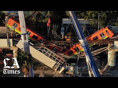 Atleast 23 dead, scores injured after Mexico City Metro overpass collapses