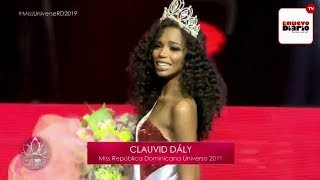 Full Performance Clauvid Daly   Miss Dominican Republic Universe 2019