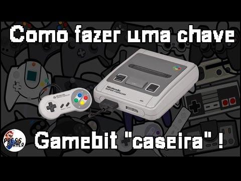 Como Fazer Uma Chave Gamebit ?! #PapoRetrô
