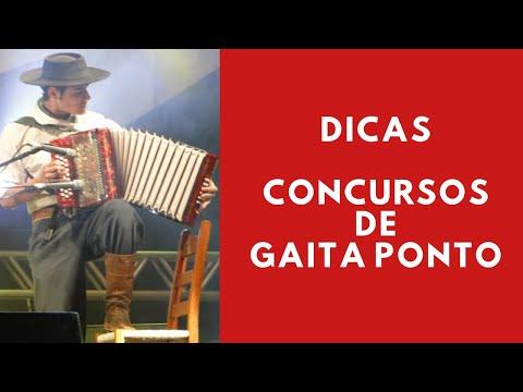RODEIO DA VACARIA - Dicas para fazer uma boa apresentação em Concursos de Gaita Ponto!