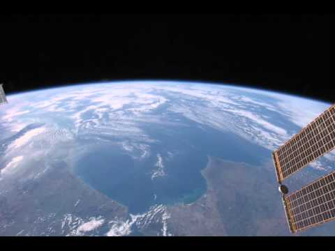 Space Station View of North Africa and Western Europe