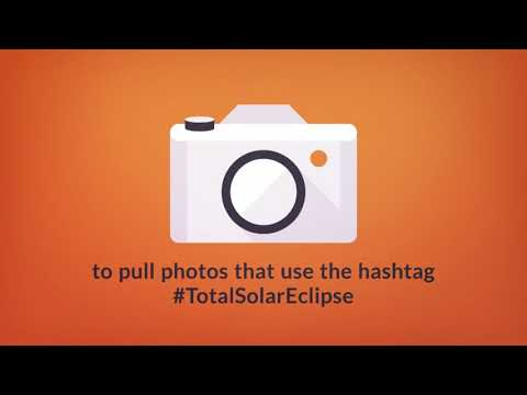 #TotalSolarEclipse | Hashtag Photo Feed from FB, Twitter & Instagram