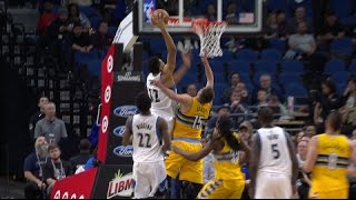 Karl Anthony Towns Slams Home 2 MONSTER HAMMERS | 01 22 17