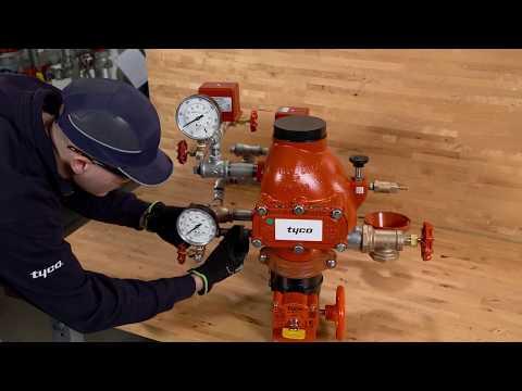TYCO® DPV-1 Dry Pipe Valve Installation