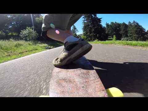 Longboarding Mount Tabor Park, Portland, Oregon. #2