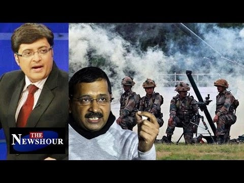 Arvind Kejriwal Wants 'PROOF' Of Surgical Strike: The Newshour Debate (4th Oct)