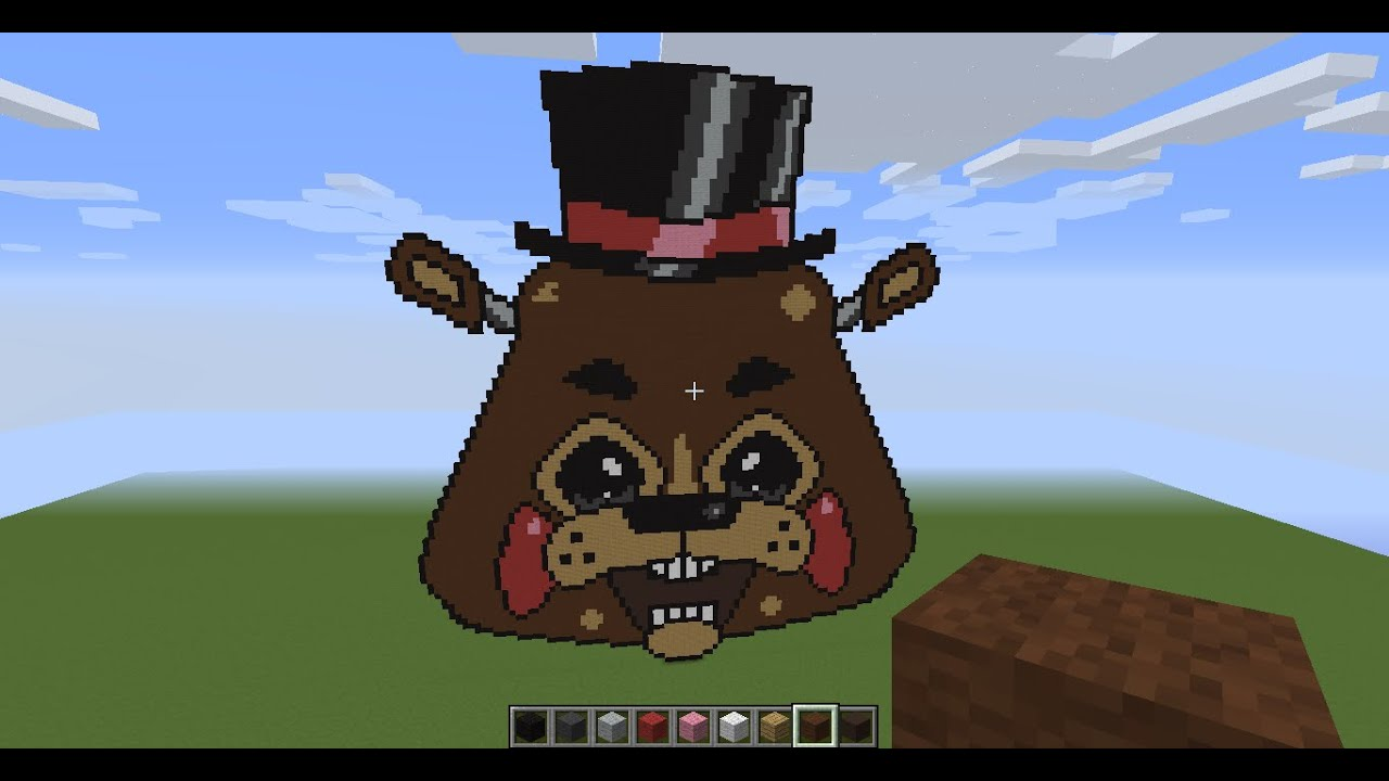 Minecraft Toy Freddy : Minecraft toy freddy timelpse subscriber special