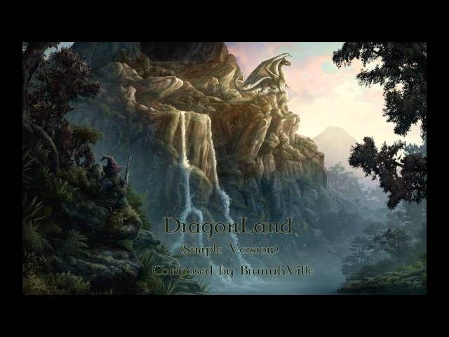 Celtic Music - DragonLand (Simple Version)