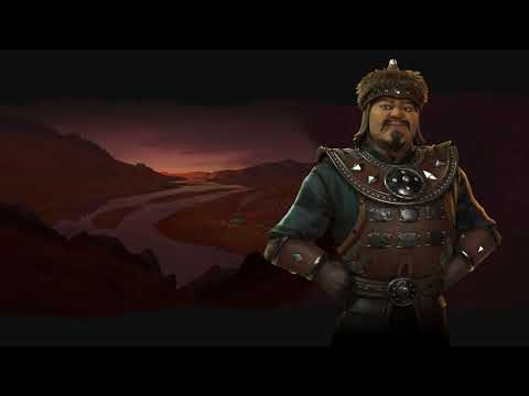 Mongolia Theme - Atomic (Civilization 6 OST) | Pastoral Song