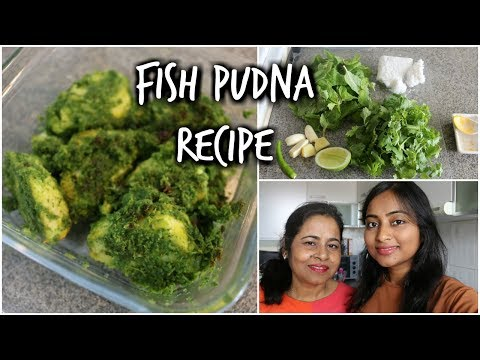 Easy & Quick Fish Pudina Recipe | White Fish With Mint & Coriander | Indian Cooking With Mom