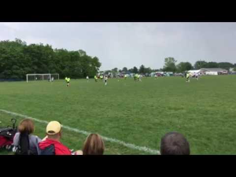 FC Union at Starburst Showcase Columbus Ohio Kelly scores