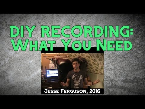 Cheap and Easy Home Music Recording: What You Need
