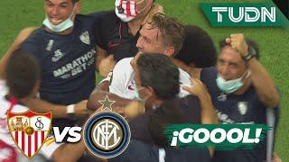 ¡GOOOL! Doblete de De Jong | Sevilla 2-1 Inter Milan | Final - Europa League 2020
