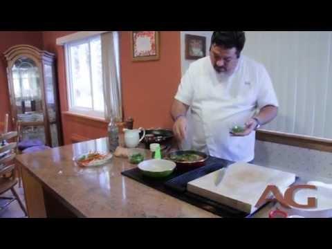 Chef Alex Garcia Prepares Chicken Ropa Vieja