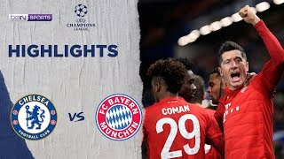 Chelsea 0-3 Bayern Munich | Champions League 19/20 Match Highlights