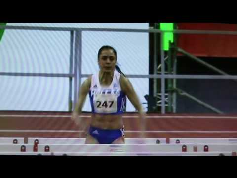 20170225 Balkanijada - 60m prepone - drzavni juniorski - Milica Emini - 8.34