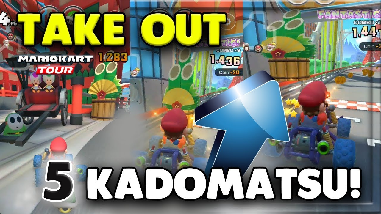 How To Hit A Kadomatsu With An Item 5 Times Tour Challenges 2 Mario Kart Tour
