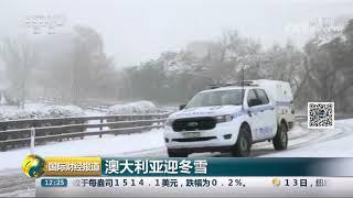 [国际财经报道]澳大利亚迎冬雪| CCTV财经