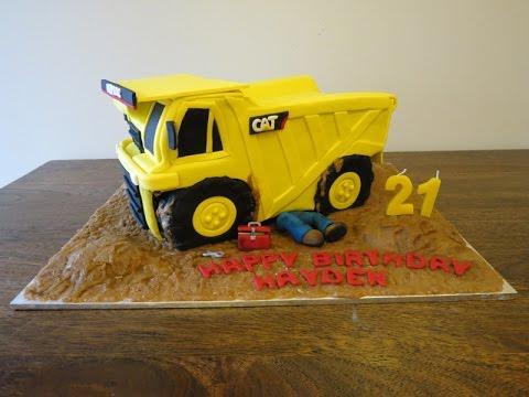 How To Make A D Dump Truck Cake