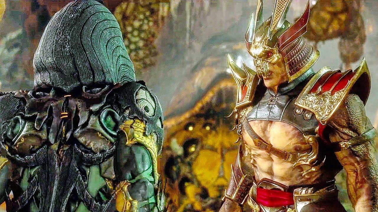 Shao Kahn findet heraus, dass D'Vorah die Mileena-Szene getötet hat - Mortal Kombat 11 + video