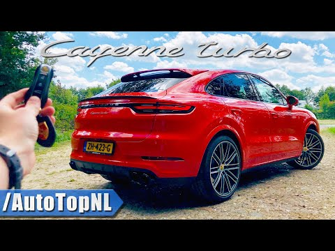 2020 Porsche Cayenne Turbo Coupe REVIEW POV Test Drive on AUTOBAHN & ROAD by AutoTopNL