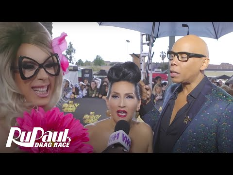 RuPaul's Drag Race's Alaska Interviews Celebs on the MTV Movie & TV Awards Red Carpet | VH1