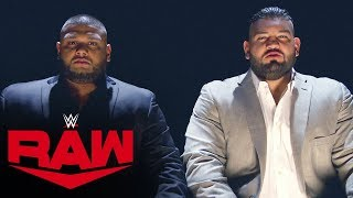 AOP's game plan is as much mental as physical: Raw, Oct. 28, 2019
