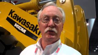 Video still for Gary Bell of Kawasaki at ConExpo 2014