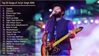 Best of Arijit Singh August 2016   Latest and Top songs Jukebox