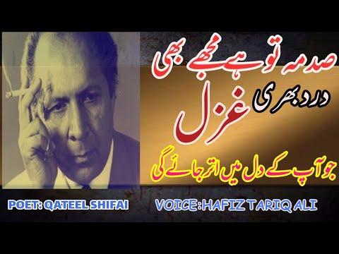 Best Poetry Ghazal Tujh Se Juda Hon Main Qateel Shifai By Hafiz Tariq Ali urdu Sad Poetry 