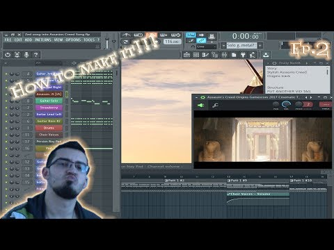 How To Make | Real METAL in FL Studio 12 Tutorial - Ep.2,Assassin`s Creed Origins Track,Making Off