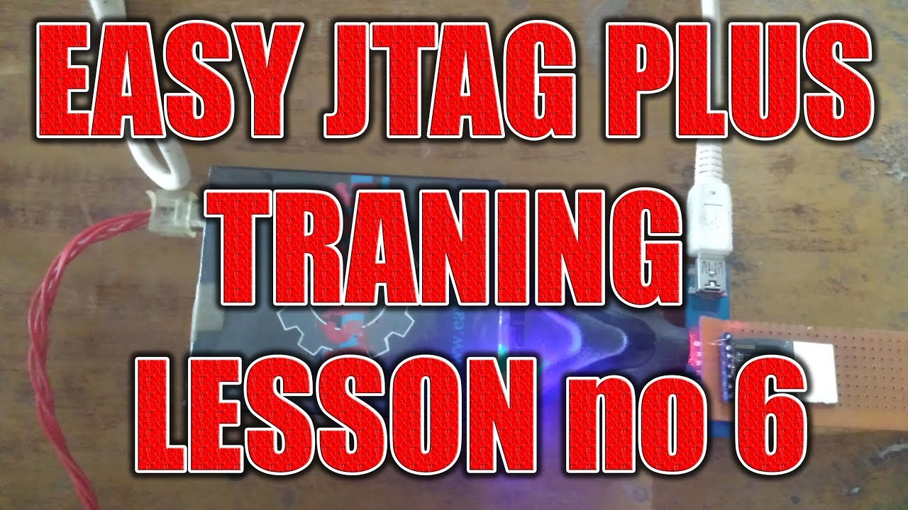 easy jtag tranning lesson no6 mtk write by vender
