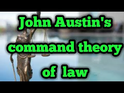 Austin's theory of command