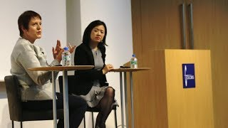 GLOBIS Faculty Megumi Taoka and Price Global President Suzanne Pric...