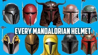 Every Type of Mandalorian Helmet