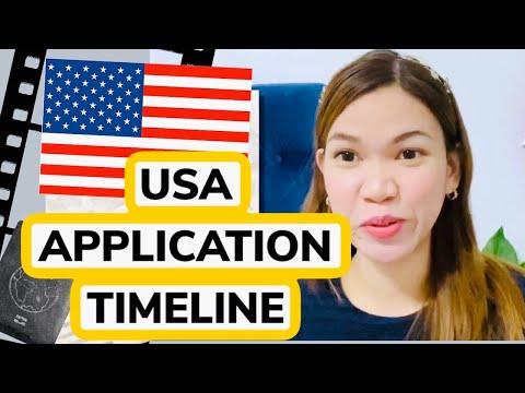 USA VISA APPLICATION TIMELINE/ APPLICATION TIMEFRAME / PETITION / PH To USA 2019